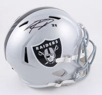 Kenyan Drake Signed Raiders Full-Size Speed Helmet (Beckett Hologram) at PristineAuction.com