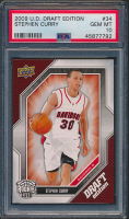 Stephen Curry 2009-10 Upper Deck Draft Edition #34 SP (PSA 10) at PristineAuction.com