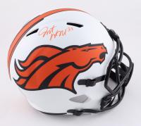 Javonte Williams Signed Broncos Full-Size Lunar Eclipse Alternate Speed Helmet (Beckett Hologram) (See Description) at PristineAuction.com