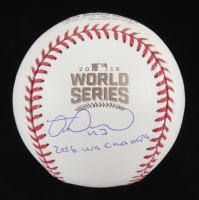 """Miguel Montero Signed 2016 World Series Baseball Inscribed """"2016 WS Champs"""" (JSA COA) at PristineAuction.com"""