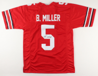 Braxton Miller Signed Jersey (JSA COA) (See Description) at PristineAuction.com
