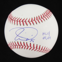 "Tim Lincecum Signed OML Baseball Inscribed ""NLCY 08, 09"" (JSA COA) at PristineAuction.com"
