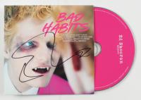 "Ed Sheeran Signed ""Bad Habits"" CD Disc Cover (JSA COA) at PristineAuction.com"