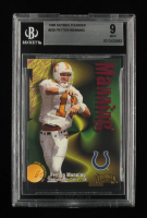Peyton Manning 1998 SkyBox Thunder #239 RC (BGS 9) at PristineAuction.com