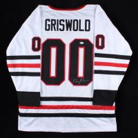 """Chevy Chase Signed """"National Lampoon's Christmas Vacation"""" Jersey (Beckett COA) at PristineAuction.com"""