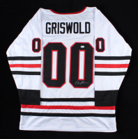 """Chevy Chase Signed """"National Lampoon's Christmas Vacation"""" Jersey (Beckett COA) (See Description) at PristineAuction.com"""