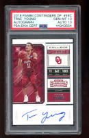 Trae Young 2018-19 Panini Contenders Draft Picks #56 Autograph RC (PSA 10) at PristineAuction.com