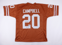 """Earl Campbell Signed Jersey Inscribed """"HT 77"""" (Beckett Hologram) at PristineAuction.com"""