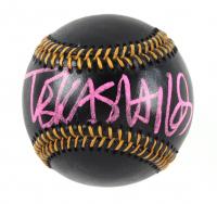 Tekashi 6ix9ine Signed Black Leather OML Baseball (Beckett Hologram) at PristineAuction.com