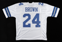 """Larry Brown Signed Jersey Inscribed """"SB XXX MVP"""" (Tristar Hologram) at PristineAuction.com"""