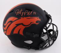 Javonte Williams Signed Broncos Full-Size Eclipse Alternate Speed Helmet (Beckett Hologram) at PristineAuction.com