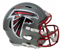 Michael Vick Signed Falcons Full-Size Flash Alternate Speed Helmet (JSA COA) at PristineAuction.com