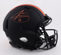 Jarvis Landry Signed Browns Full-Size Authentic On-Field Eclipse Alternate Speed Helmet (Beckett Hologram) at PristineAuction.com