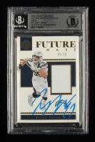 Joey Bosa Signed 2018 Panini Encased Future Wave Materials Gold #12 #05/10 (BGS Encapsulated) at PristineAuction.com