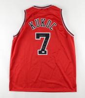 "Toni Kukoc Signed Jersey Inscribed ""HOF 21"" (JSA COA) at PristineAuction.com"