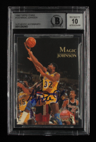 Magic Johnson Signed 1996 Topps Stars #122 (BGS Encapsulated) at PristineAuction.com