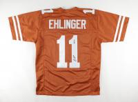 """Sam Ehlinger Signed Jersey Inscribed """"Hook Em"""" (JSA COA) at PristineAuction.com"""