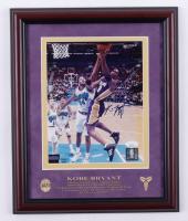 Kobe Bryant Signed Lakers 13x16 Custom Framed Photo Display (JSA COA & Hollywood Collectibles COA) at PristineAuction.com