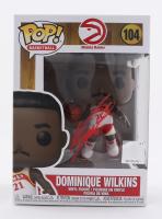 Dominique Wilkins Signed Hawks #104 Funko Pop! Vinyl Figure (PSA COA) at PristineAuction.com