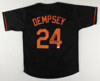 """Rick Dempsey Signed Jersey Inscribed """"MVP 83 WS"""" (JSA COA) at PristineAuction.com"""
