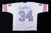 """Earl Campbell Signed Jersey Inscribed """"HOF 91"""" (Beckett Hologram) at PristineAuction.com"""