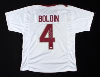 Anquan Boldin Signed Jersey (JSA COA) (See Description) at PristineAuction.com