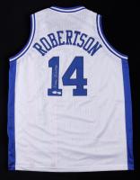 Oscar Robertson Signed Jersey (PSA COA & Hollywood Collectibles COA) at PristineAuction.com