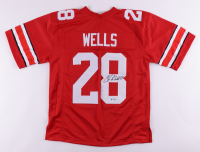 Chris Wells Signed Jersey (PSA COA) at PristineAuction.com