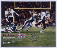 "John Riggins Signed Redskins 20x24 Photo on Canvas Inscribed ""4th and 1"" (Schulte Sports Hologram & Riggins Hologram) (See Description) at PristineAuction.com"