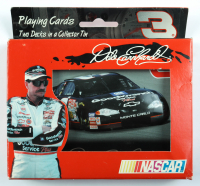 Dale Earnhardt 2001 Edition Nascar Playing Card Tin (See Description) at PristineAuction.com