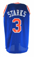 John Starks Signed Jersey (JSA COA) at PristineAuction.com