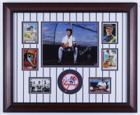 Don Mattingly Signed Yankees 19x23 Custom Framed Photo Display with Patch & (6) Cards (Schulte Sports Hologram) (See Description) at PristineAuction.com