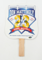 Don Mattingly Signed 1997 Commemorative Paddle Fan (Schulte Sports Hologram) at PristineAuction.com
