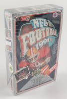 1991 Upper Deck Low Series Football Wax Box with (36) Packs at PristineAuction.com