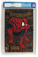"""1990 """"Spiderman"""" Issue #1 Marvel Gold First Issue Comic Book (CGC 9.2) at PristineAuction.com"""