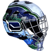 Thatcher Demko Signed Canucks Full-Size Goalie Mask (Fanatics Hologram) at PristineAuction.com
