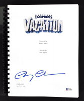 """Chevy Chase Signed """"National Lampoon's Vacation"""" Movie Script (Beckett COA) at PristineAuction.com"""