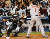 "Brian Roberts Signed 11x14 Photo Inscribed ""Yankees Stadium Last At Bat"" (JSA COA) at PristineAuction.com"
