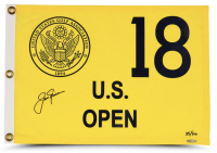 Jack Nicklaus Signed LE US Open Tournament Pin Flag (UDA COA) at PristineAuction.com