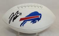 Josh Allen Signed Bills Logo Football (Beckett Hologram) at PristineAuction.com