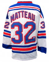 """Stephane Matteau Signed Jersey Inscribed """"94 SC Champs"""" (JSA COA) at PristineAuction.com"""