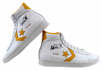 Magic Johnson Signed Pair of Converse Basketball Shoes With Shoe Box (Beckett Hologram) at PristineAuction.com