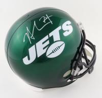 Nick Mangold Signed Jets Full-Size Helmet (Beckett Hologram) at PristineAuction.com