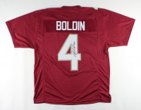 Anquan Boldin Signed Jersey (JSA COA) at PristineAuction.com