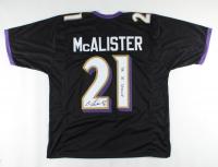 "Chris McAlister Signed Jersey Inscribed ""SB 35 Champ"" (JSA COA) at PristineAuction.com"