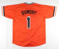 "Al Bumbry Signed Jersey Inscribed ""ROY 1973"" (JSA COA) at PristineAuction.com"