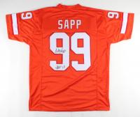 """Warren Sapp Signed Jersey Inscribed """"HOF '13"""" (JSA COA) at PristineAuction.com"""
