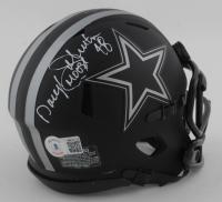 "Daryl ""Moose"" Johnston Signed Cowboys Eclipse Alternate Speed Mini Helmet (Beckett Hologram) (See Description) at PristineAuction.com"
