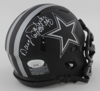 "Daryl ""Moose"" Johnston Signed Cowboys Eclipse Alternate Speed Mini Helmet (JSA COA) at PristineAuction.com"