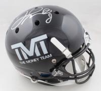 "Floyd Mayweather Jr. Signed ""The Money Team"" Full-Size Helmet (Schwartz COA) (See Description) at PristineAuction.com"